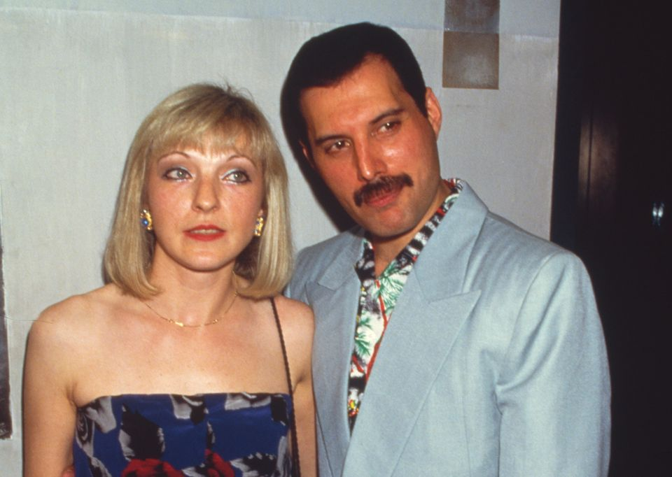 1986년 7월 12일 런던에서 메리 오스틴과 프레디 머큐리