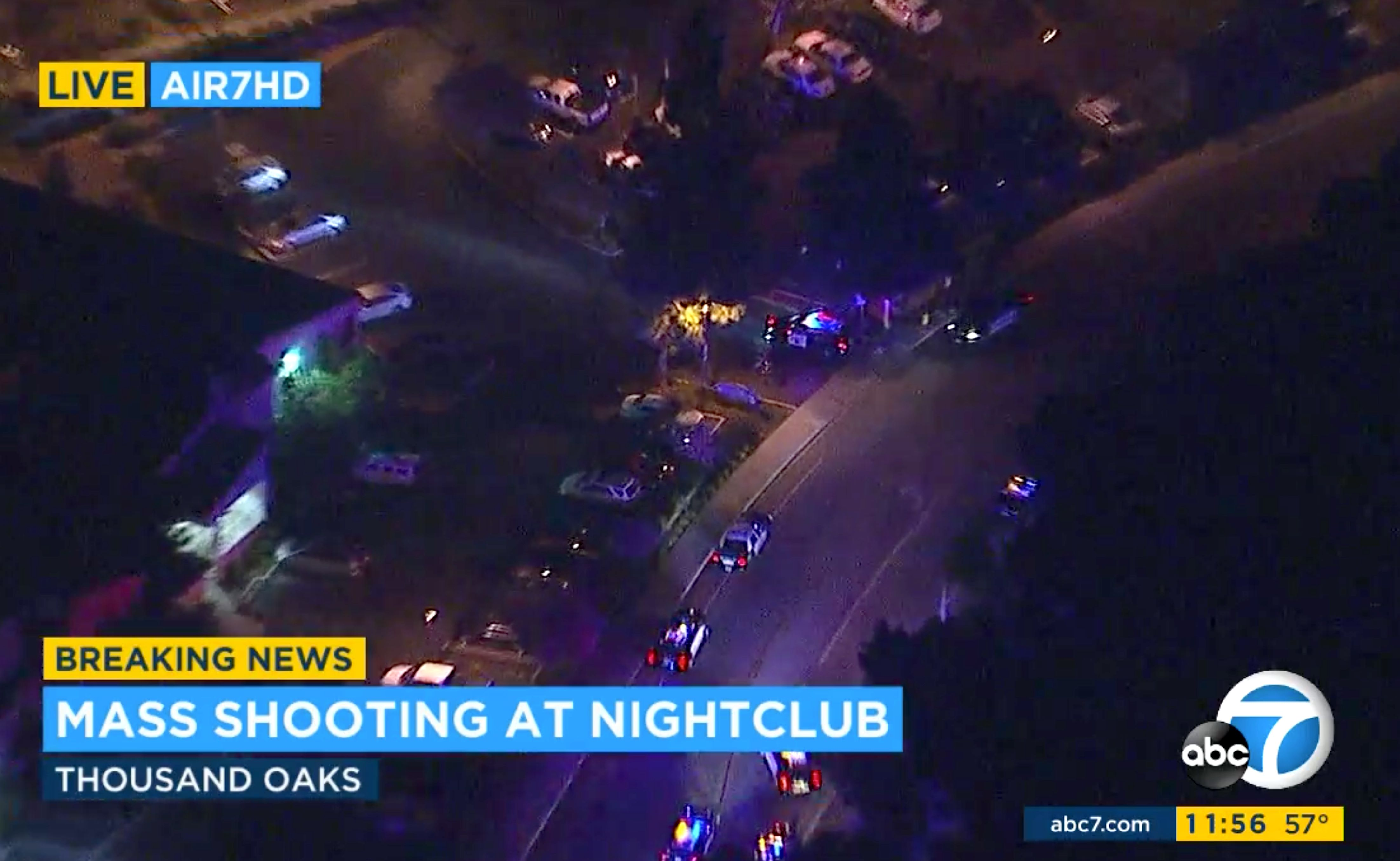 At Least 12 Killed In Mass Shooting At Borderline Bar & Grill In Thousand Oaks,