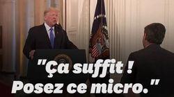 Pendant sa conférence de presse post midterms, Trump s'en prend violemment à un journaliste de