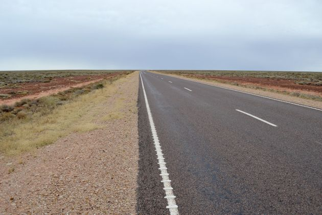 The bodies were found close to a broken-down vehicle 200km north west of Alice