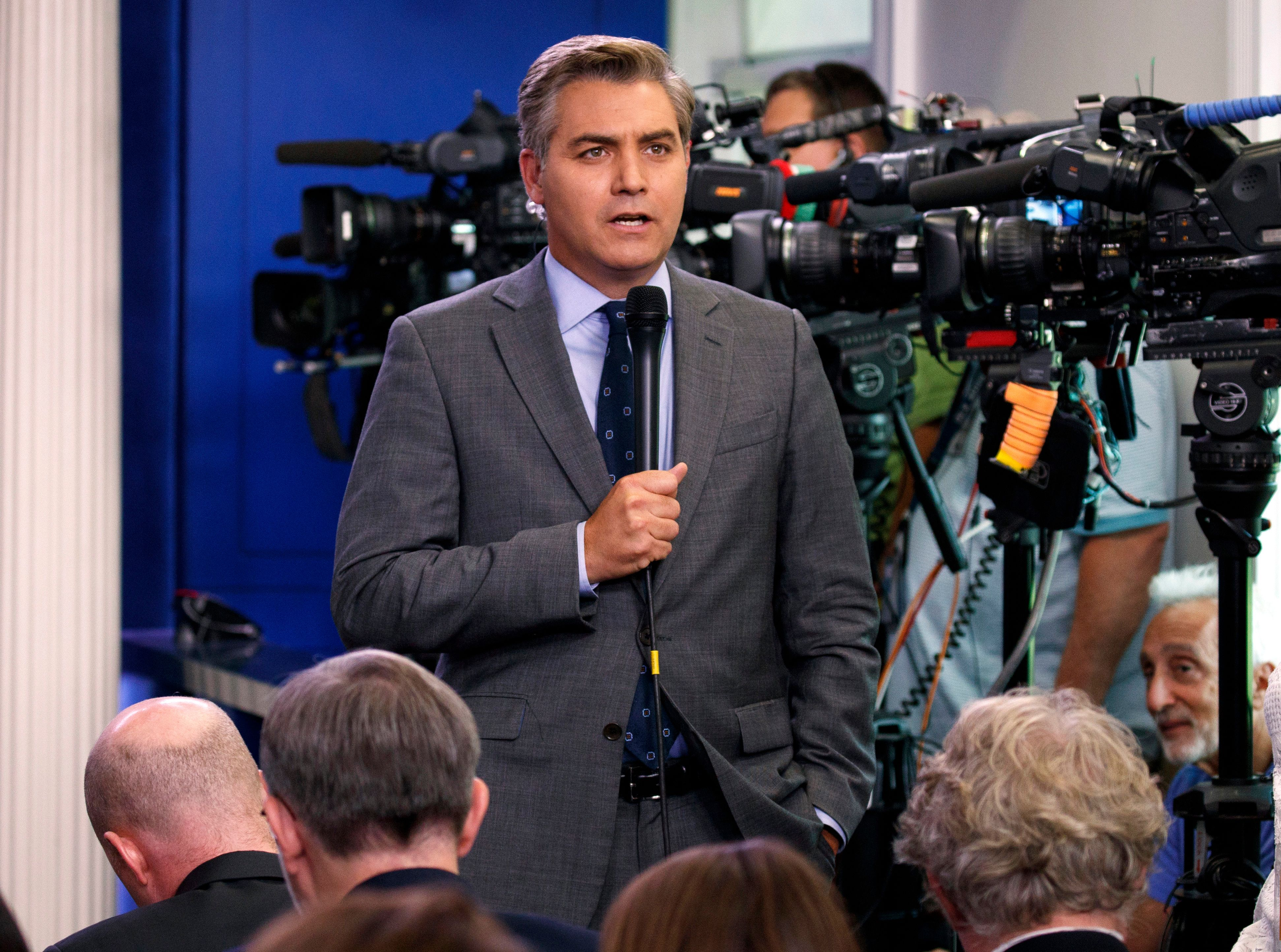 Who Is Jim Acosta? Everything You Need To Know About CNN's Headline-Making