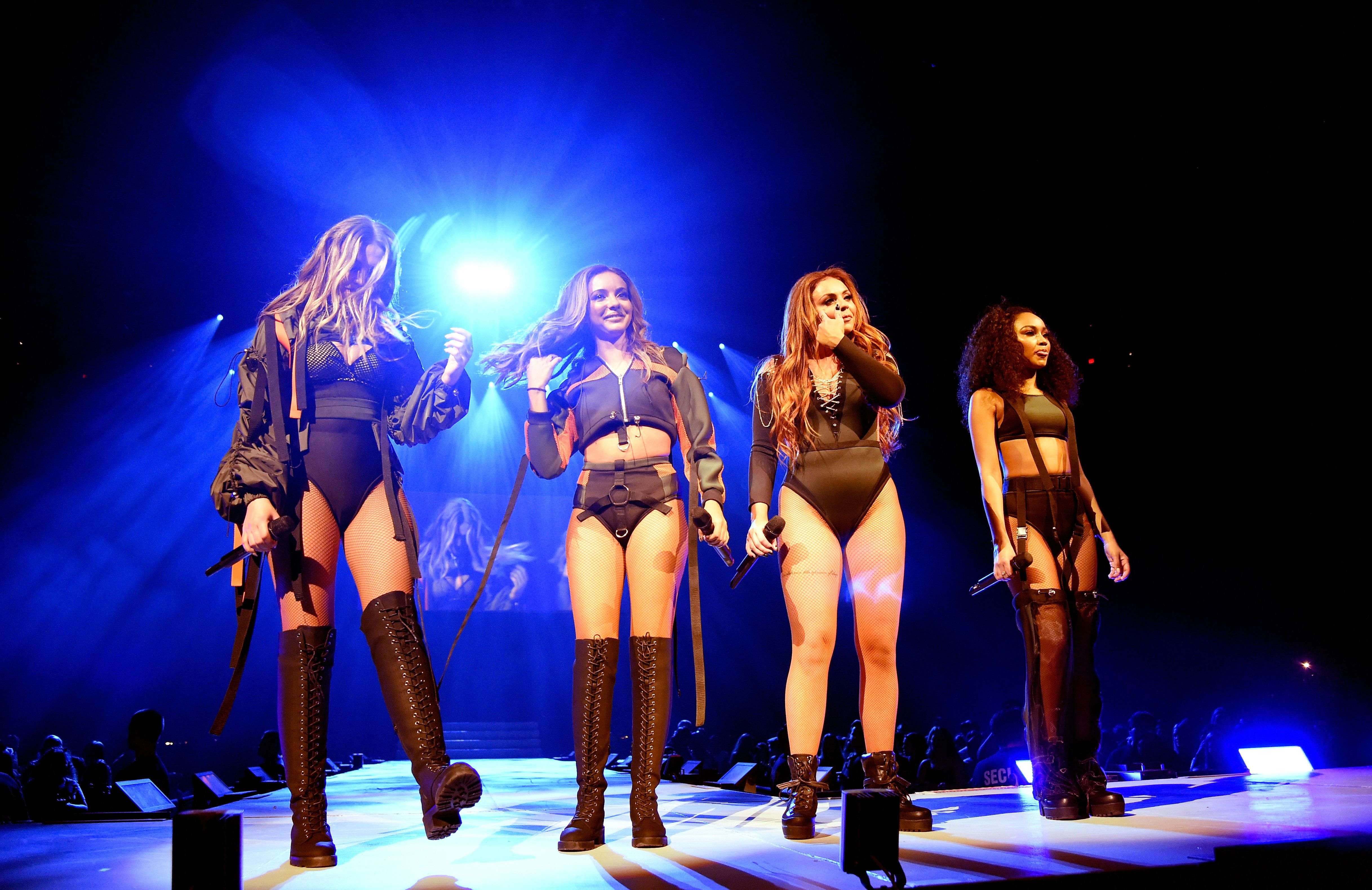 Little Mix Insist Revealing Stage Outfits Don't Conflict With Their Feminist Message