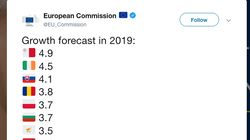 European Commission Brutally Trolls Britain With Growth Forecast