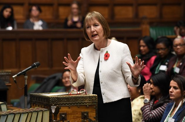 Harriet Harman in the