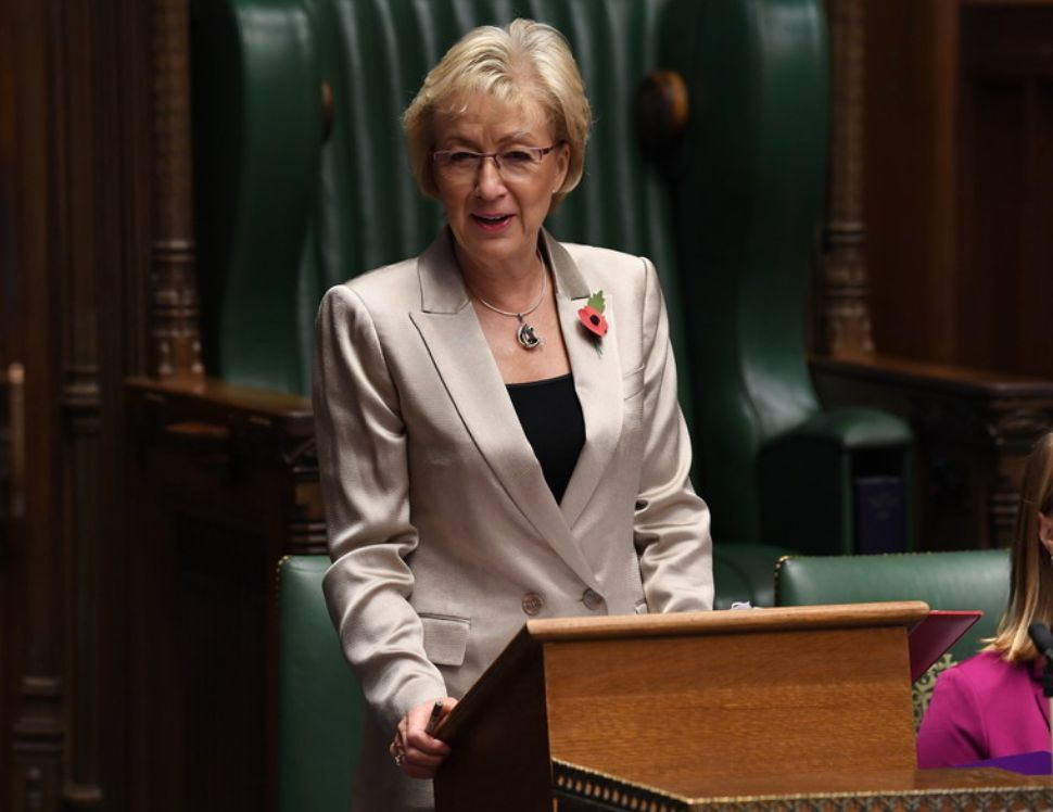 Andrea Leadsom Lavishes Praise On Sure Start Centres - And Is Reminded Austerity Destroyed