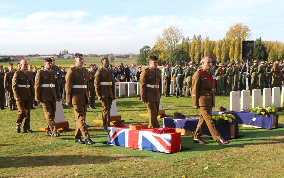 An unknown soldier who was thought to have been killed in the battle of Passchendaele 101 years ago was...