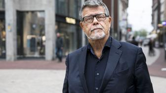 This photo taken on November 5, 2018 shows s portrait of a 69 year old Dutchman Emile Ratelband in the centre of Arnhem, The Netherlands. - Emile Ratelband wants his official age (69) to be adjusted with his 'emotional age' (49). (Photo by Roland HEITINK / ANP / AFP) / Netherlands OUT        (Photo credit should read ROLAND HEITINK/AFP/Getty Images)
