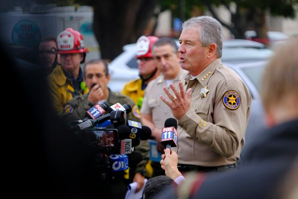Ventura County Sheriff Geoff Dean identifies Ian Long as the shooter at the Borderline Bar & Grill in Thousand Oaks.&nbsp