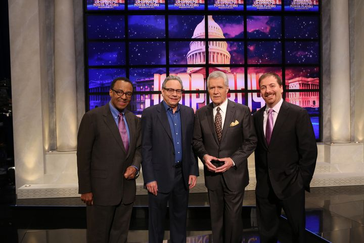 Jeopardy!' Power Players 2012: Chuck Todd Beats Lewis Black
