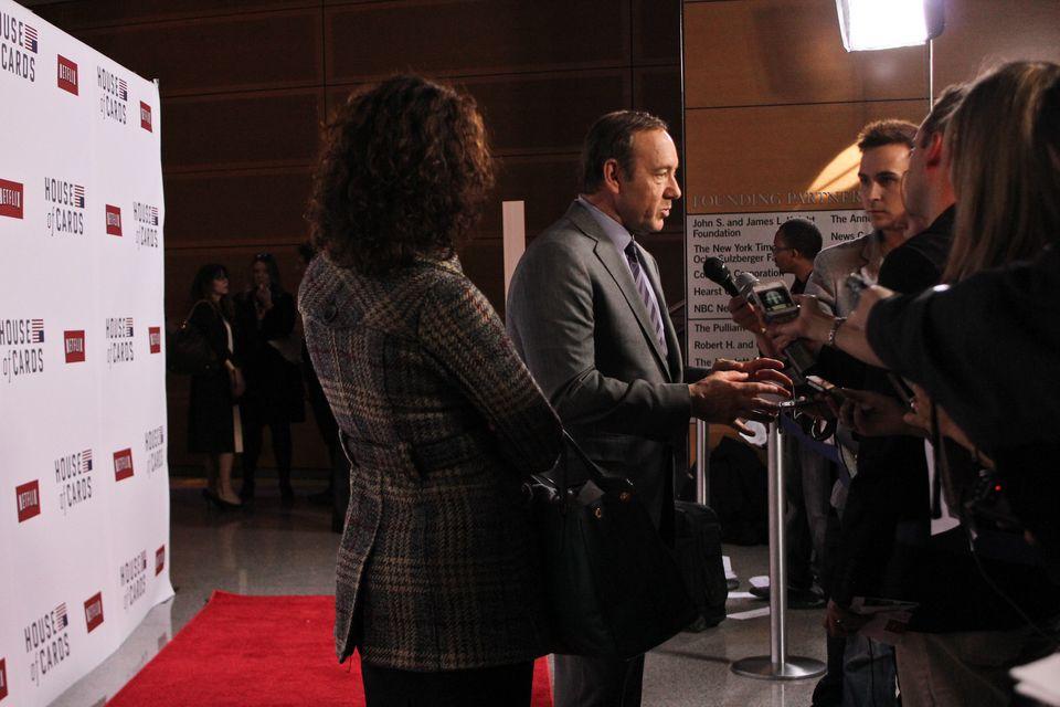 """House Of Cards"" Premiere  The Newseum  Washington, D.C. January 29, 2013"