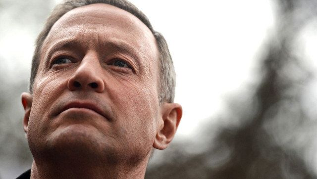 ANNAPOLIS, MD - MARCH 01: Maryland Gov. Martin O'Malley waits to speak to advocates of stricter gun control laws as they rall