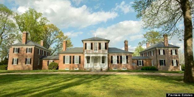Brandon Plantation For Sale Thomas Jefferson Designed Virginia