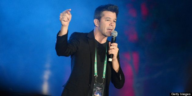 WASHINGTON, DC - JANUARY 19:  Uber CEO Travis Kalanick speaks at the Generation Now Inaugural Youth Ball hosted by OurTime.or