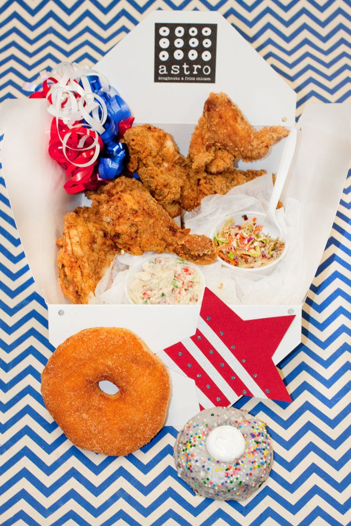 "What's more American than a picnic? Nothing, and <a href=""http://astrodoughnuts.com/"" target=""_blank"">Astro</a> makes it easy"