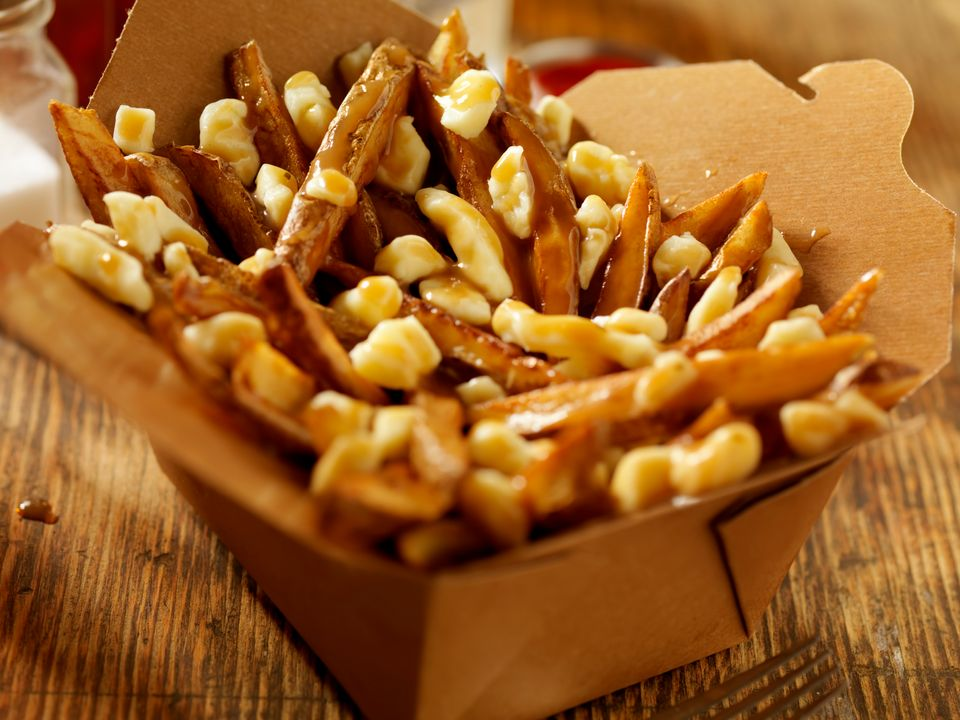 Poutine — French fries generously slathered in gravy and cheese curds — is a classic Canadian treat that is said to have orig