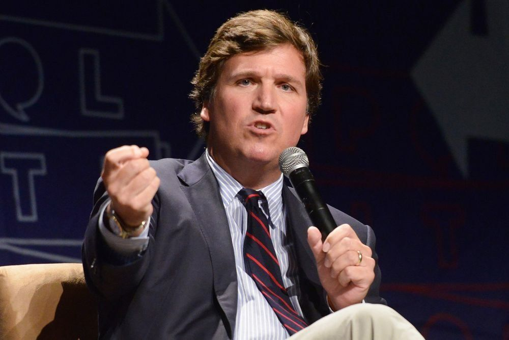 Mob Targets Home of Fox News Host Tucker Carlson