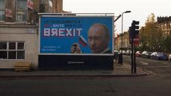 Billboard Featuring Putin Appears In North