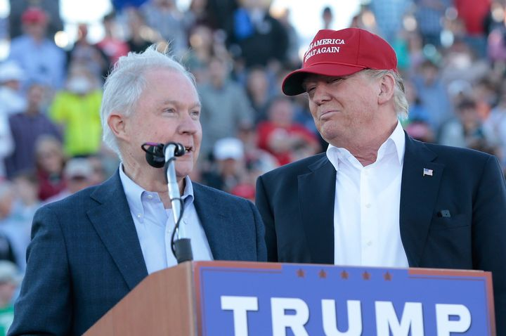Jeff Sessions was the first senator to endorse Donald Trump's presidential campaign. Once in office, he may have been his mos