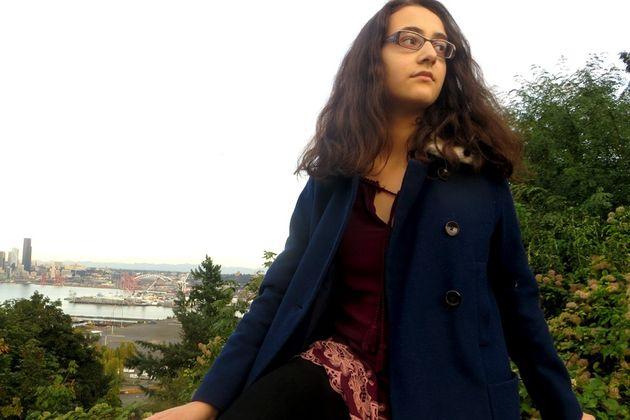 미국 시애틀에서 기후행동을 펼치고 있는 청소년 활동가 제이미