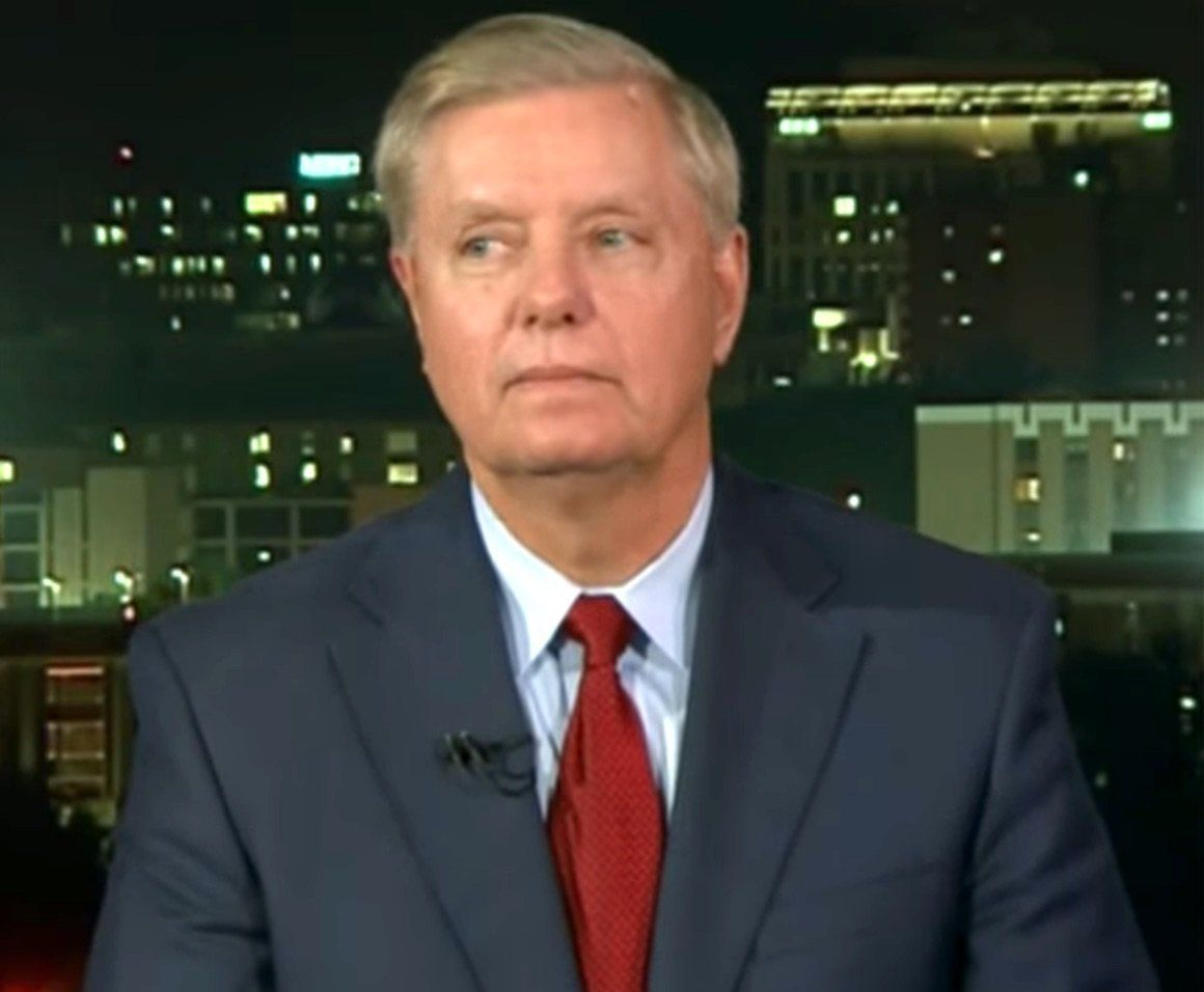 Lindsey Graham Awkwardly Tries To Walk Back Vow To Unleash 'Holy Hell' On Trump thumbnail