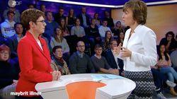 """Kramp-Karrenbauer gerät bei """"Illner"""" wegen Homo-Ehe-Satz unter Druck – Kevin Kühnert watscht sie ab"""