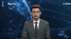 China: Neuer Sprecher taucht im TV auf – etwas an ihm ist