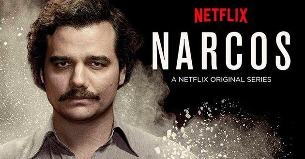 넷플릭스 드라마 <나르코스>에 등장하는 콜럼비아 마약왕 파블로 에스코바르