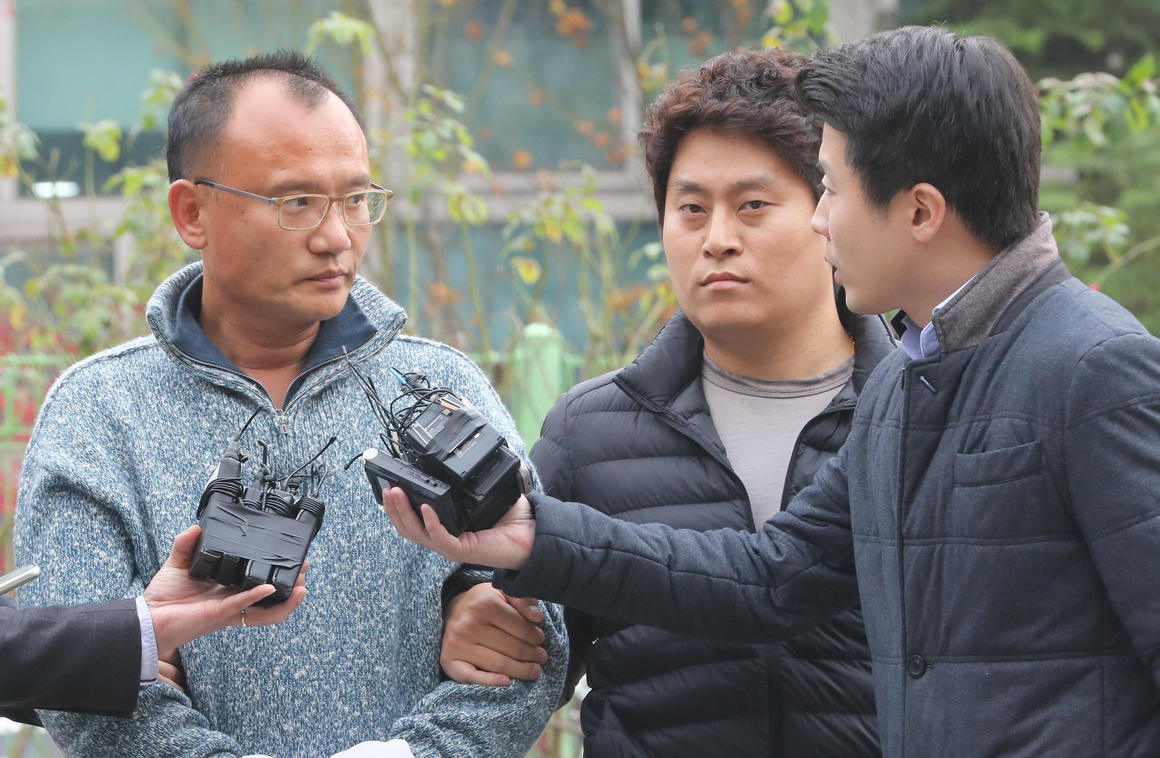 前 직원 폭행 영상 공개된 지 10일 만에 양진호 회장에게 벌어진