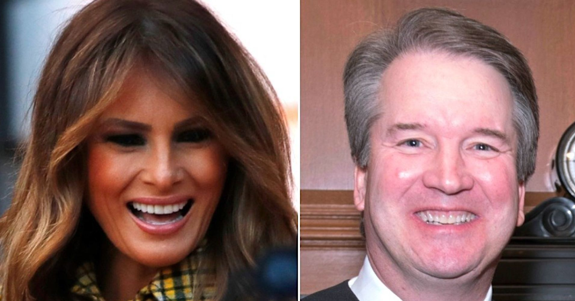 Melania Trump Raises Eyebrows With Tweet About Brett Kavanaughs