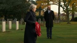 Theresa May Pays Tribute To The War