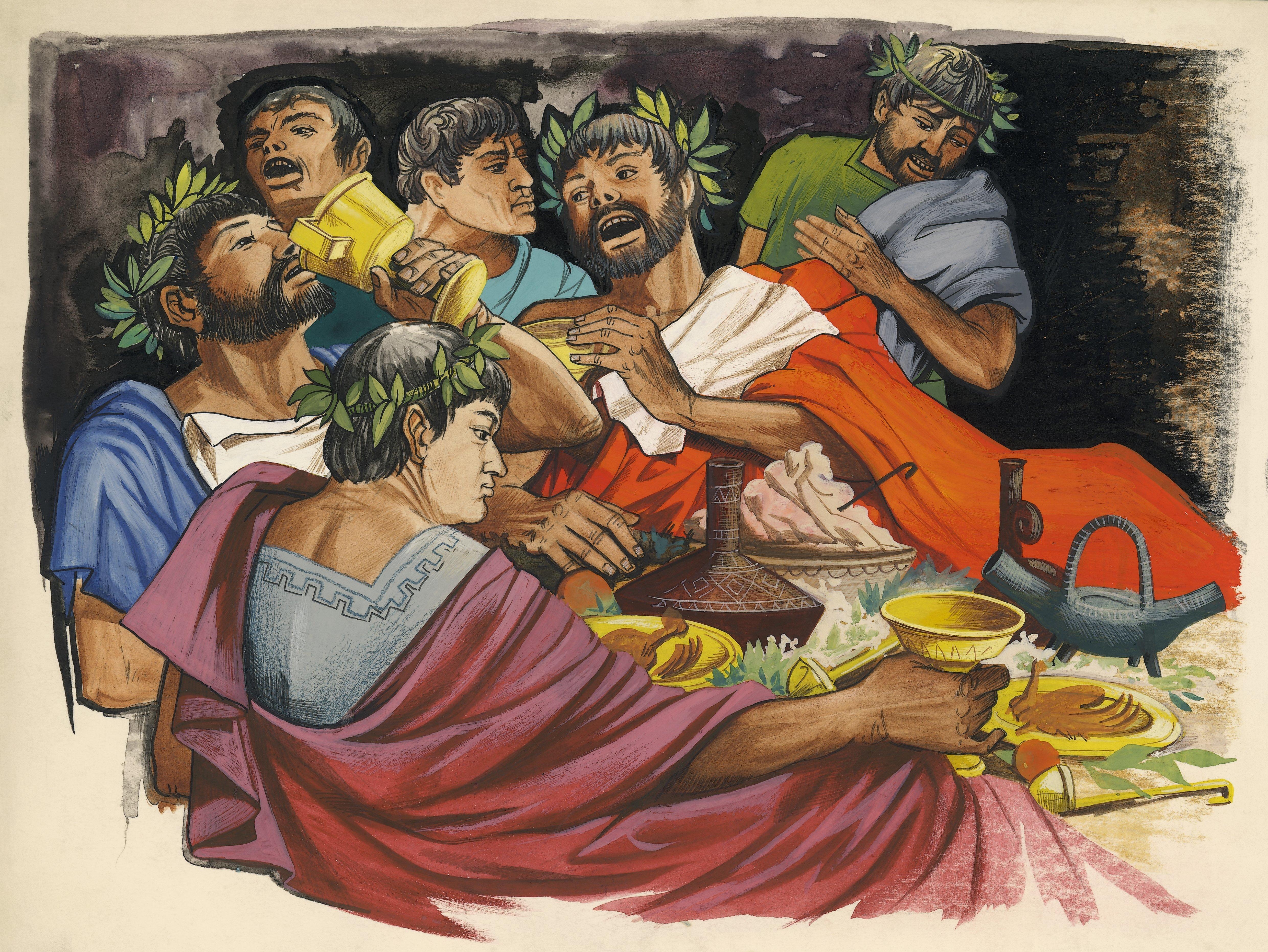 Τι τρώγαν οι αρχαίοι;