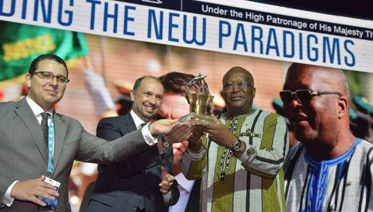11e édition des MEDays: Le président du Burkina Faso récompensé par un prix à