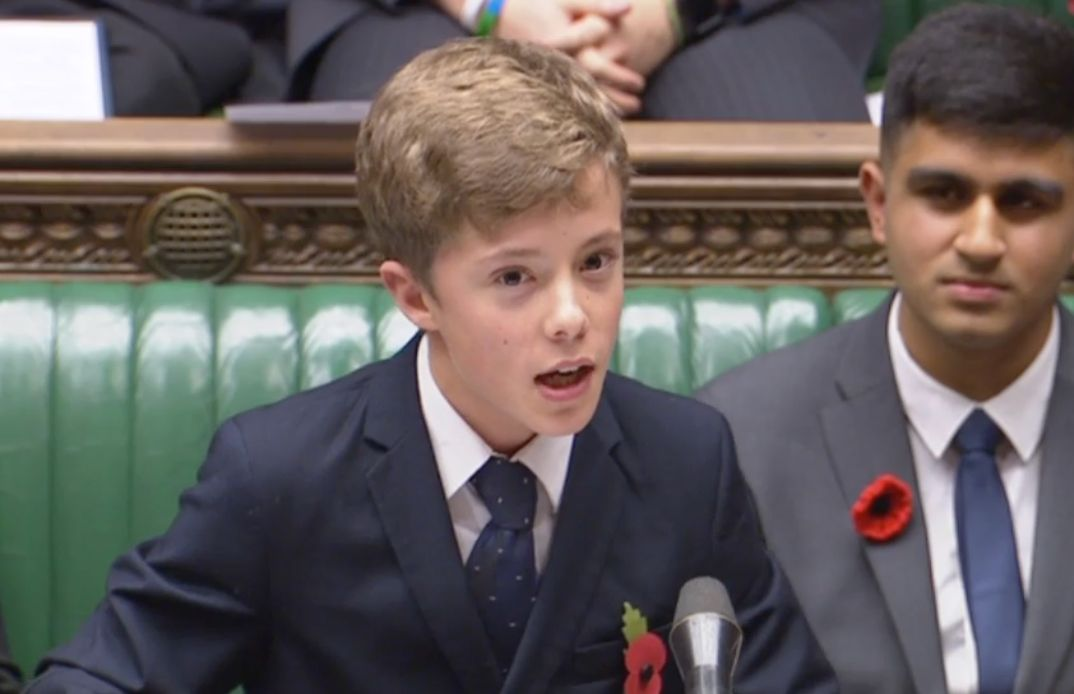 Watch This Talented Teenager Own The Floor As He Demands Votes At 16 In