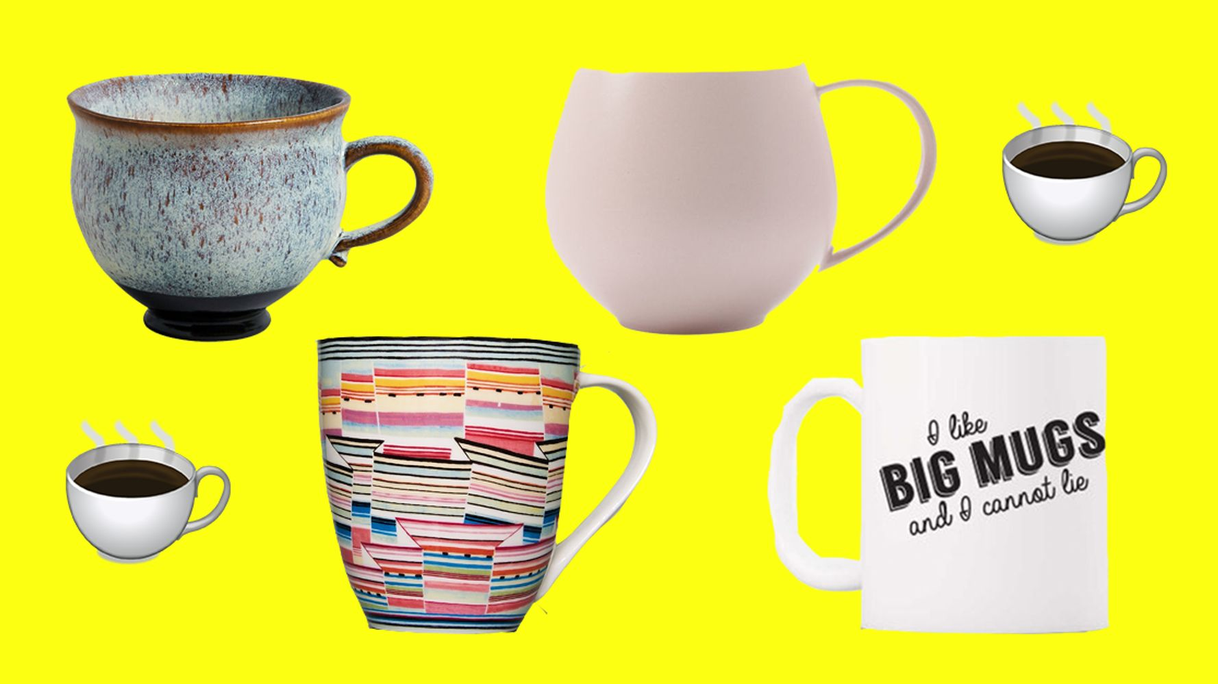 8 Big Mugs Under 10 For People Who Love Big Drinks