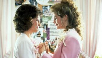 """Sally Field and Julia Roberts in """"Steel Magnolias."""""""