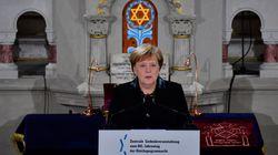 Angela Merkel schickt eindringliche Warnung vor wachsendem Judenhass in Deutschland