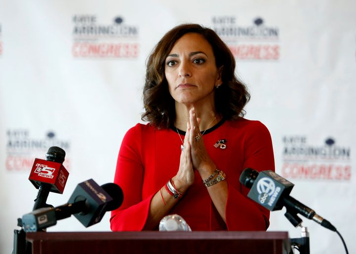 Republican Katie Arrington defeated Rep. Mark Sanford (R-S.C.) in a June primary only to lose to Cunningham in the general el