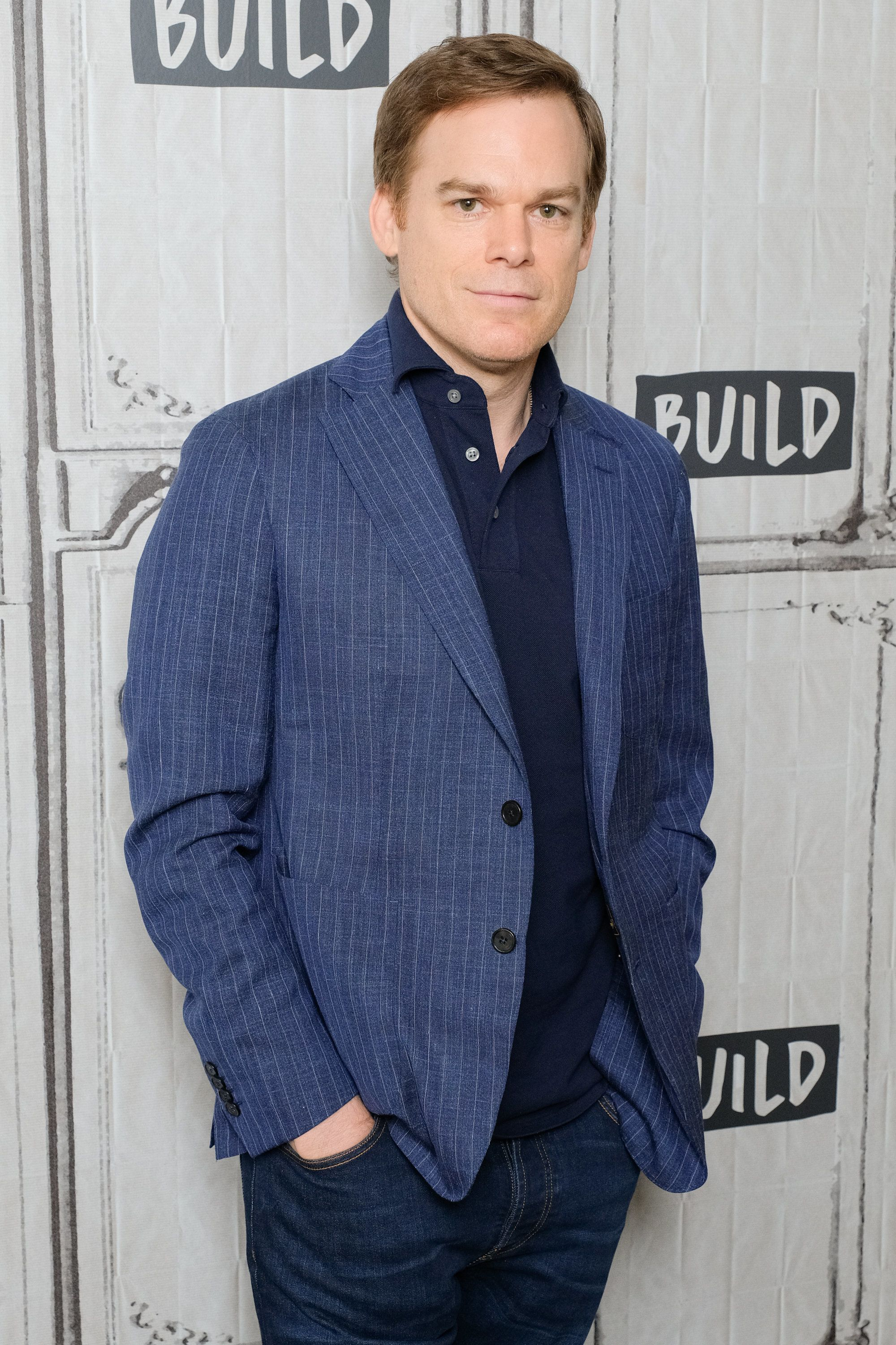 "Michael C. Hall discussed his Netflix show ""Safe"" at Build Series in New York in May."