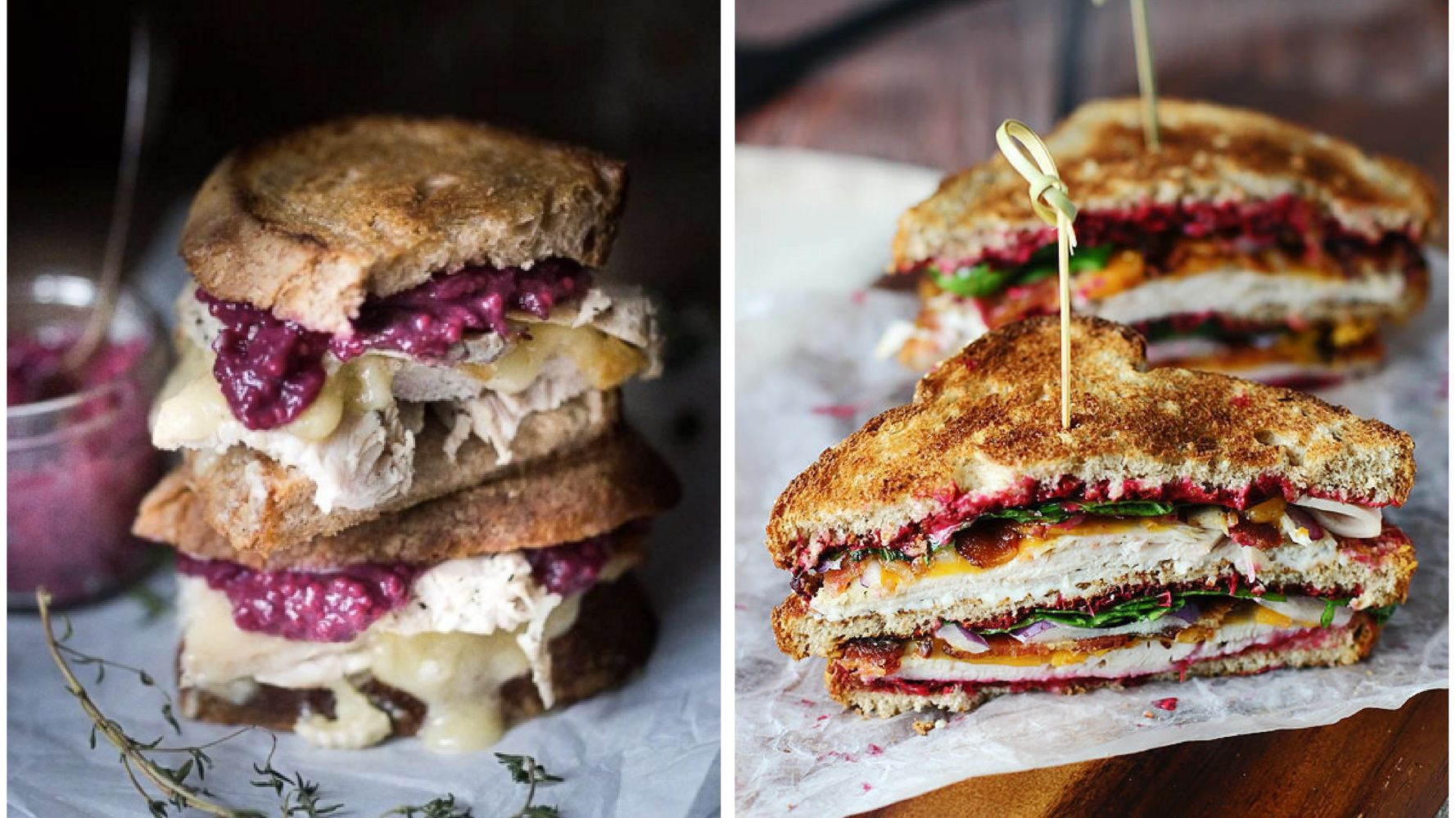 Thanksgiving Leftover Sandwiches That Are Nothing Short Of Epic