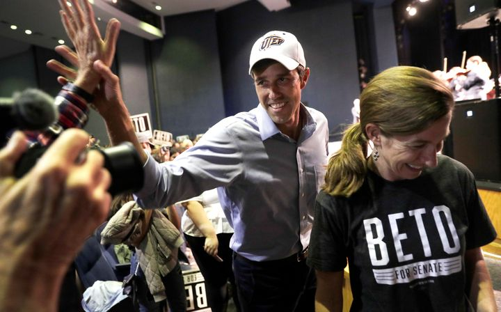 Rep. Beto O'Rourke (D-Texas) generated huge levels of enthusiasm nationwide for his run for Senate.