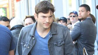LOS ANGELES, CA - MAY 03:  Ashton Kutcher is seen on May 3, 2018  in Los Angeles, CA.  (Photo by SMXRF/Star Max/GC Images)