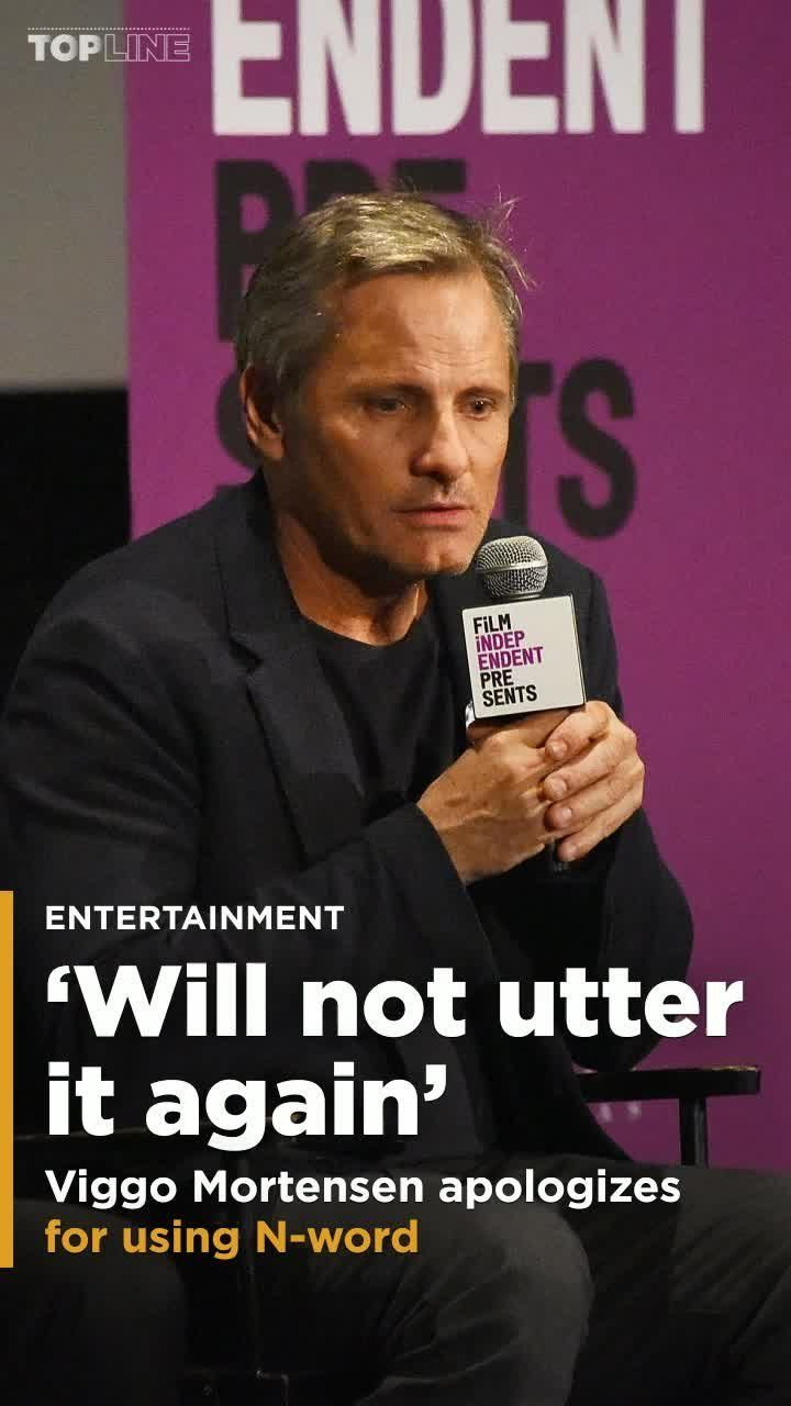 """Viggo Mortensen is saying sorry for using the N-word while promoting """"Green Book,"""" a film about traveling through the Deep South in the 1960s, which co-stars Mahershala Ali."""