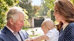 Here's An Adorable Sneak Peek Of Prince Louis With Kate Middleton And Prince