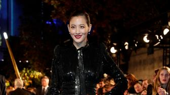 South Korean actress Claudia Kim poses for photographers as she arrives for the premier of the fantasy film 'Fantastic Beasts: The Crimes of Grindelwald' in Paris on November 8, 2018. (Photo by Geoffroy VAN DER HASSELT / AFP)        (Photo credit should read GEOFFROY VAN DER HASSELT/AFP/Getty Images)