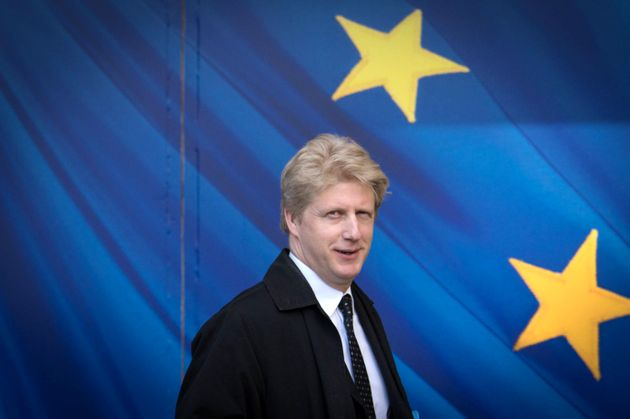 Jo Johnson visits the European Commission in Brussels on March 28, 2017. He has resigned as a minister...