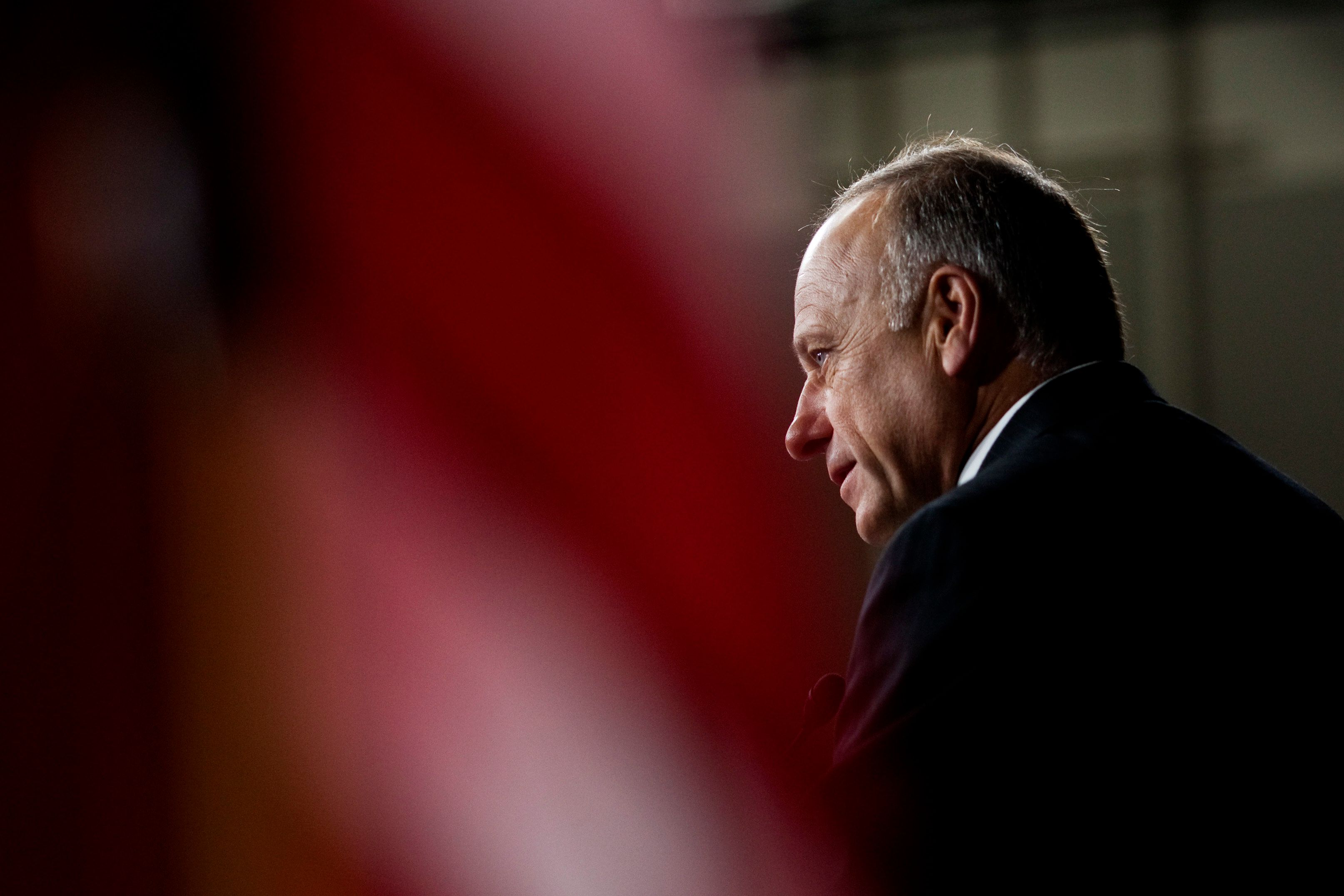 Rep. Steve King, R-Iowa, speaks during a news conference  on Capitol Hill, in Washington, Tuesday, Aug. 10, 2010, announcing a resolution condemning the Proposition 8 decision in California on same-sex marriage.  (AP Photo/Drew Angerer)