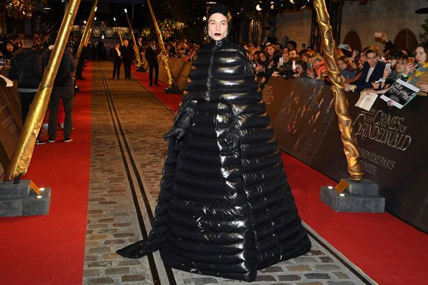 Ezra Miller's Out-There 'Fantastic Beasts' Premiere Look: 'Human Duvet' or 'Sassy Sleeping Bag'?