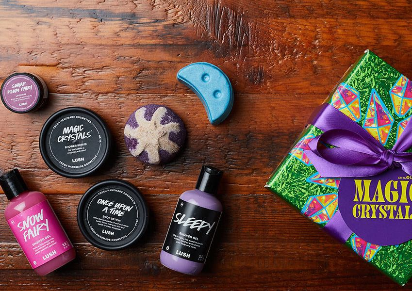 LUSH bath products are just that — lush. Pull together a gift set to help your pal pamper and primp the blues away with a wide assortment of bath bombs, body scrubs, hair care products and more.