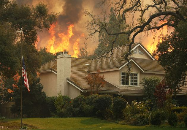California Wildfires: At Least Nine Dead As Blaze Incinerates