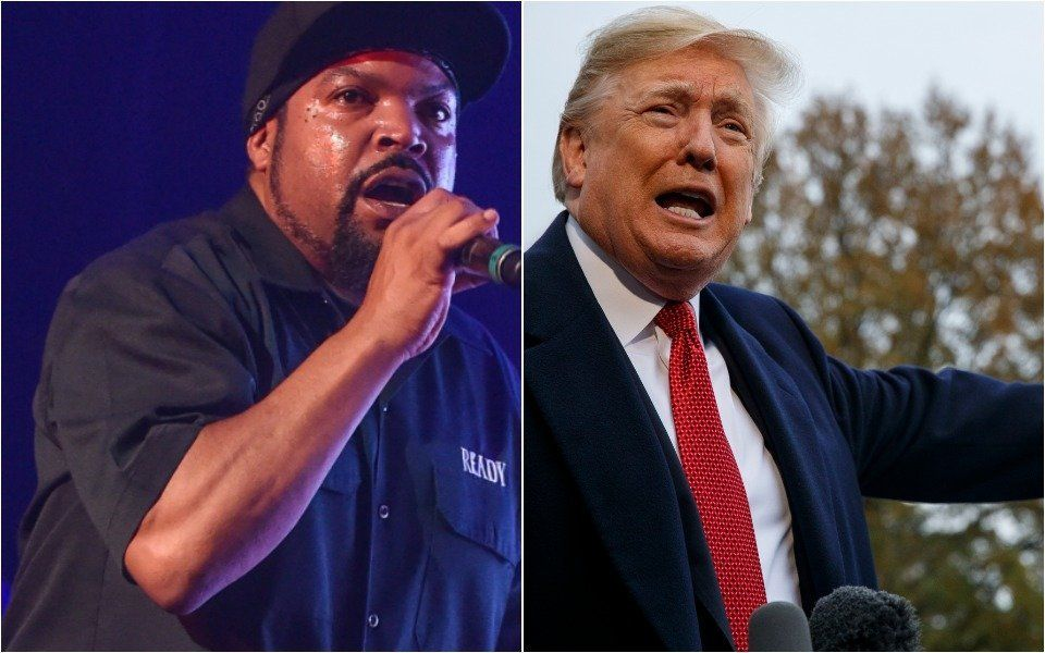 Ice Cube Taunts Trump With Explicit New Track 'Arrest The President'